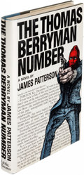 Books:Mystery & Detective Fiction, James Patterson. The Thomas Berryman Number. Boston: [1976].First edition, signed....