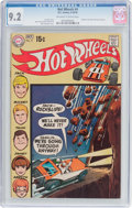 Bronze Age (1970-1979):Miscellaneous, Hot Wheels #4 (DC, 1970) CGC NM- 9.2 Off-white to white pages....
