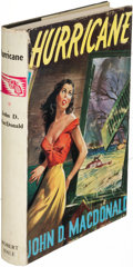 Books:Mystery & Detective Fiction, John D. MacDonald. Hurricane. London: [1957]. First English (and first hardcover) edition....