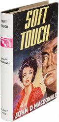 Books:Mystery & Detective Fiction, John D. MacDonald. Soft Touch. London: [1960]. First English(and first hardcover) edition....