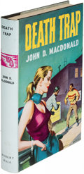 Books:Mystery & Detective Fiction, John D. MacDonald. Death Trap. London: [1958]. First English(and first hardcover) edition....