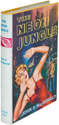 Books:Mystery & Detective Fiction, John D. MacDonald. The Neon Jungle. London: [1962]. FirstEnglish (and first hardcover) edition....