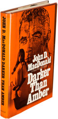 Books:Mystery & Detective Fiction, John D. MacDonald. Darker than Amber. Philadelphia: 1970. First U. S. hardcover edition....