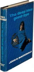 Books:Mystery & Detective Fiction, John D. MacDonald. The Deep Blue Good-Bye. London: [1965].First English (and first hardcover) edition.. ...