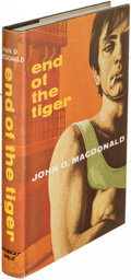 Books:Mystery & Detective Fiction, John D. MacDonald. End of the Tiger. London: [1967]. FirstEnglish (and first hardcover) edition....