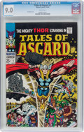Silver Age (1956-1969):Superhero, Tales of Asgard #1 (Marvel, 1968) CGC VF/NM 9.0 White pages....