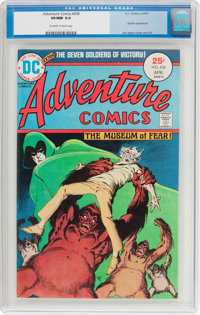 Adventure Comics #438 (DC, 1975) CGC VF/NM 9.0 Off-white to white pages