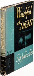 Books:Mystery & Detective Fiction, Julius Fast. Watchful at Night. New York: [1945]. Firstedition, signed....