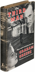 Books:Mystery & Detective Fiction, Graham Greene. The Third Man and The Fallen Idol. London:[1950]. First edition, review copy....