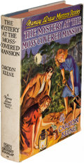 Books:Mystery & Detective Fiction, Carolyn Keene. [Nancy Drew]. The Mystery at the Moss-CoveredMansion. New York: [1941]. First edition, signed....