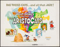 "Movie Posters:Animation, The Aristocats (Buena Vista, 1970). Half Sheet (22"" X 28""). Animation.. ..."