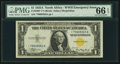 Small Size:World War II Emergency Notes, Fr. 2306* $1 1935A North Africa Silver Certificate. PMG GemUncirculated 66 EPQ.. ...