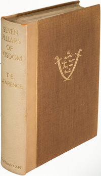 T. E. Lawrence. Seven Pillars of Wisdom. London: [1935]. First edition