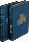 Books:Literature Pre-1900, Rudyard Kipling. The Jungle Book [and:] The Second JungleBook. London: 1894-1895. First editions.... (Total: 2 )