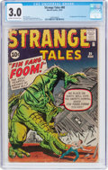 Silver Age (1956-1969):Adventure, Strange Tales #89 (Marvel, 1961) CGC GD/VG 3.0 Cream to off-white pages....