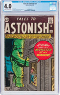 Silver Age (1956-1969):Horror, Tales to Astonish #34 (Marvel, 1962) CGC VG 4.0 Cream to off-whitepages....