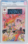 Modern Age (1980-Present):Superhero, Harbinger #0 Pink Variant (Valiant, 1992) CGC NM/MT 9.8 White pages....