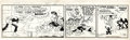 Original Comic Art:Comic Strip Art, Al Capp Li'l Abner Daily ...