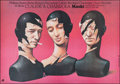 "Movie Posters:Foreign, Masks (Polfilm 1988). Polish Poster (37.75"" X 26.25""). Foreign.. ..."