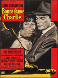 "Movie Posters:Foreign, Good Luck, Charlie (Unidex, 1962). French Moyenne (22.25"" X 30.25""). Foreign.. ..."
