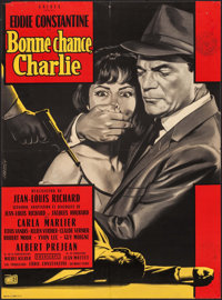 "Good Luck, Charlie (Unidex, 1962). French Moyenne (22.25"" X 30.25""). Foreign"