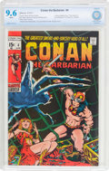 Bronze Age (1970-1979):Adventure, Conan the Barbarian #4 (Marvel, 1971) CBCS NM+ 9.6 White pages....