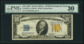 Small Size:World War II Emergency Notes, Fr. 2308 $10 1934 Mule North Africa Silver Certificate. PMG Very Fine 30.. ...