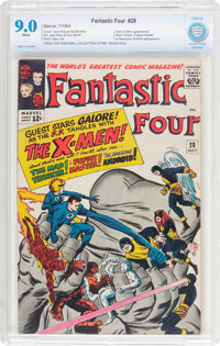 Fantastic Four #28 (Marvel, 1964) CBCS VF/NM 9.0 White pages