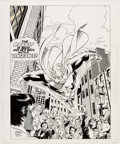 Original Comic Art:Covers, Brian Buniak and Jerry Ordway Thunderbunny #1 Cover Original Art (WaRP Graphics, 1985)....