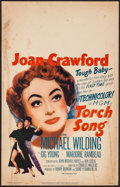 "Movie Posters:Romance, Torch Song (MGM, 1953). Window Card (14"" X 22""). Romance.. ..."