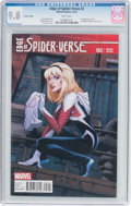 Modern Age (1980-Present):Superhero, Edge of Spider-Verse #2 Variant Edition (Marvel, 2014) CGC NM/MT9.8 White pages....