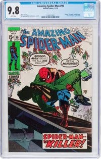 The Amazing Spider-Man #90 (Marvel, 1970) CGC NM/MT 9.8 White pages