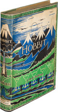 Books:Science Fiction & Fantasy, J. R. R. Tolkien. The Hobbit. Or There and Back Again. London: George Allen and Unwin, [1937]. First edition, wi...