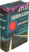 Books:Literature 1900-up, Ayn Rand. Atlas Shrugged. New York: Random House, [1957].First edition, signed by the author on the front free ...