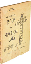 Books:Literature 1900-up, T. S. Eliot. Old Possum's Book of Practical Cats. London:Faber and Faber Limited, [1939]. First edition. Book damag...