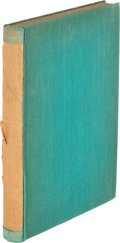 Books:Literature 1900-up, T. S. Eliot. Poems, 1909-1925. London: [1933]. Lateredition, inscribed.. ...