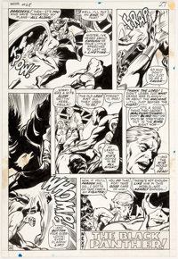 Gene Colan and Syn Shores Daredevil #68 Story Page 20 Original Art (Marvel Comics, 1970)