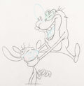 Animation Art:Production Drawing, The Ren and Stimpy Show Animation Drawing (Nickelodeon,1991)....