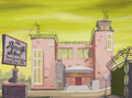 Animation Art:Painted cel background, The Oblongs Painted Background (Cartoon Network/Adult Swim,2001)....