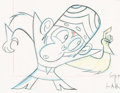 Animation Art:Production Drawing, Powerpuff Girls Mojo Jojo Animation Drawing (CartoonNetwork, 1998)....