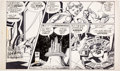 Original Comic Art:Comic Strip Art, Gil Kane Starhawks Daily Comic Strip Original Art dated 9-23 (United Features Syndicate, c. late 1970s)....