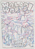 Original Comic Art:Miscellaneous, Kim Deitch Waldo World! #2 Preliminary Original Art(Fantagraphics Books, 1994)....