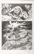 Original Comic Art:Splash Pages, Bruce Zick The Atomic Legion Splash Page Original Art (DarkHorse Books, 2014)....