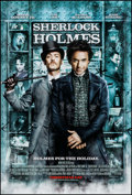 """Movie Posters:Mystery, Sherlock Holmes (Warner Brothers, 2009). One Sheet (27"""" X 40"""") DS Advance. Mystery.. ..."""