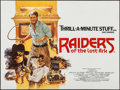 "Movie Posters:Adventure, Raiders of the Lost Ark (Paramount, 1981). British Quad (30"" X40""). Adventure.. ..."