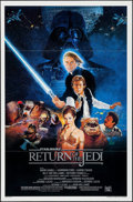 "Movie Posters:Science Fiction, Return of the Jedi (20th Century Fox, 1983). One Sheet (27"" X 41"")Flat Folded Style B. Science Fiction.. ..."