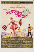 "Movie Posters:Academy Award Winners, The Sound of Music (20th Century Fox, 1965). Todd A-O InternationalOne Sheet (27"" X 41""). Academy Award Winners.. ..."