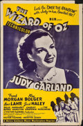 """Movie Posters:Fantasy, The Wizard of Oz (MGM, R-1955). One Sheet (27"""" X 41""""). Fantasy.. ..."""