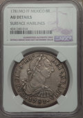 Mexico, Mexico: Charles III 8 Reales 1781 Mo-FF AU Details (SurfaceHairlines) NGC,...