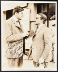 """Movie Posters:Miscellaneous, James Cagney Keybook Photo (Warner Brothers, 1941). AutographedPhoto (8"""" X 10""""). Miscellaneous.. ..."""